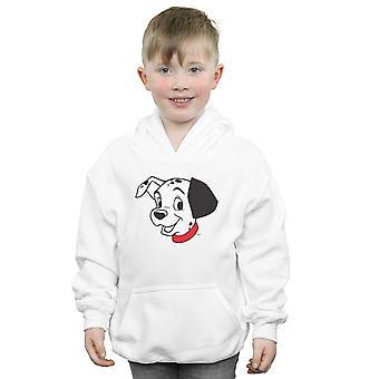 Disney pojat 101 dalmatialaista Dalmatian pää huppari