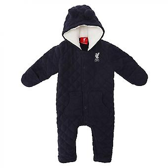 Liverpool FC Quilted Baby Snowsuit