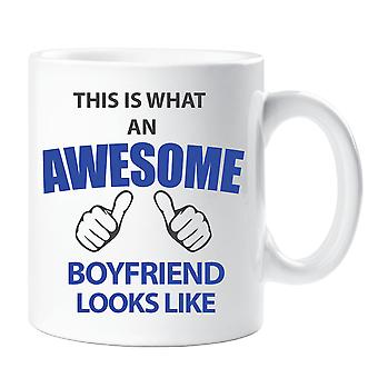 This Is What An Awesome Boyfriend Looks Like Mug