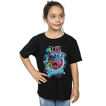 DC Comics filles Teen Titans Go Let's Dance T-Shirt