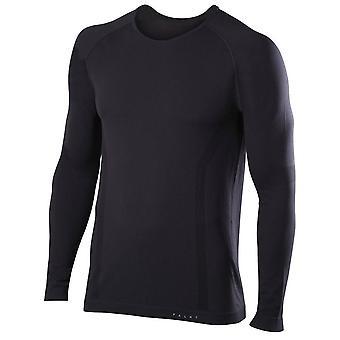 Falke Comfort Fit chemise à manches longues - noir