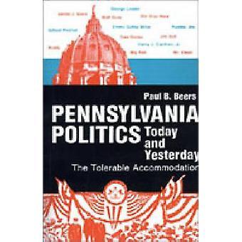 Pennsylvania politik idag och igår det tolerabla boendet av öl & Paul B.