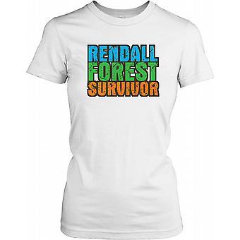 Rendall floresta sobrevivente - conspiração feminina T-Shirt