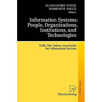 Interdisciplinary Aspects of Information Systems Studies  The Italian Association for Information Systems by DAtri & Alessandro