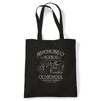 Psychobilly Hot Rod. Classic Muscle Cars Men's Funny T Shirt - Gift - Tote