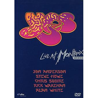 Yes - Live at Montreux 2003 [DVD] USA import