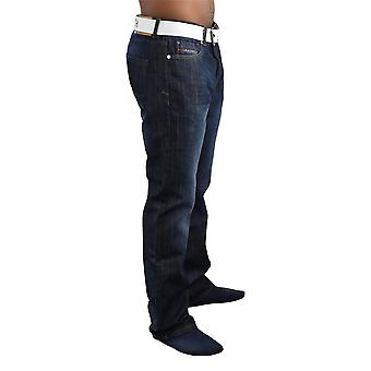 Mens straight jeans crosshatch princed