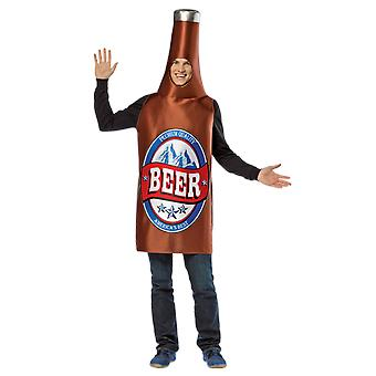 Mens Beer Bottle Novelty Drink Stag Night Funny Group Fancy Dress Costume