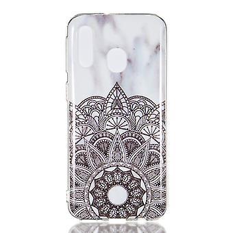 MTK Samsung Galaxy A40 TPU Marmo-stile B