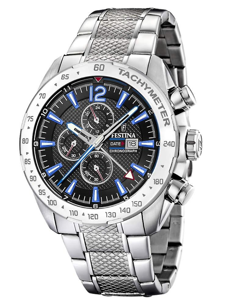Festina F20439/5 Chrono Sport Mens Watch 44 Mm
