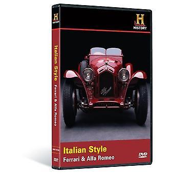 Importer des USA italienne de Style-Ferrari & Alfa Romeo [DVD]