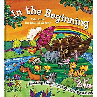 Square Cased Bible Story Book - In the Beginning by North Parade Publ