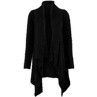 Urban Classics Damen Sweatjacke Knit Feather