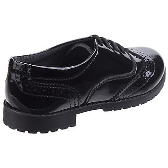 Hush Puppies Childrens/Girls Eadie Jnr Leather Brogue Shoes