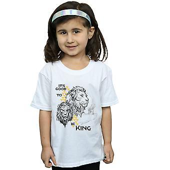 Disney tytöt leijona kuningas elokuva on hyvä olla kuningas T-paita