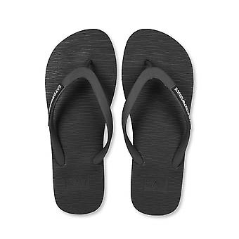 Ea7 Sea World Black Flip Flop