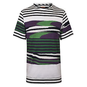 MISSONI Mare Patchwork Striped White T-Shirt