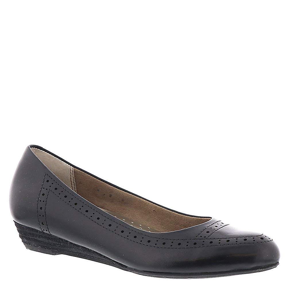 ARRAY Womens York Leather Pointed Toe Ballet Flats z2qTx