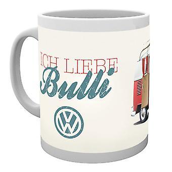 VW Camper Ich Liebe Bulli Boxed Mug bevente