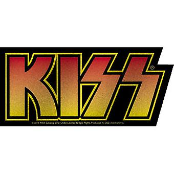 Sticker - Kiss - Logo New Toys Licensed s-8072-g
