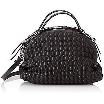 Borbonee سافيل C / ر حقيبة يد المرأة السوداء 20x13.5x11 سم (W x H x L)