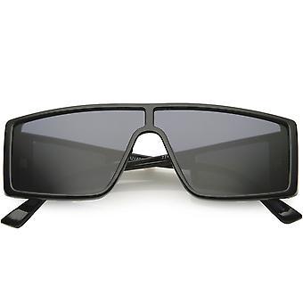 الحديثة الرياضة النشطة مربع مؤطرة الجانب نافذة عدسة المستطيل النظارات الشمسية 55mm