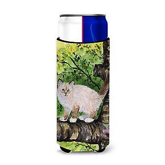 Gato - Birman Ultra bebidas aisladores para latas de slim SS8278MUK