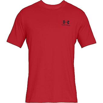 Under Armour Sportstyle Left Chest SS 1326799600 universal all year men t-shirt