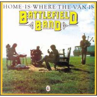 Battlefield Band - Home Is Where the Van Is [CD] USA import