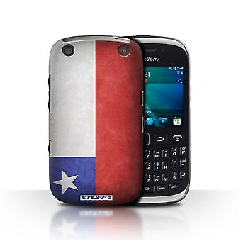 STUFF4 Case/Cover for Blackberry Curve 9320/Chile/Chiliean/Flags