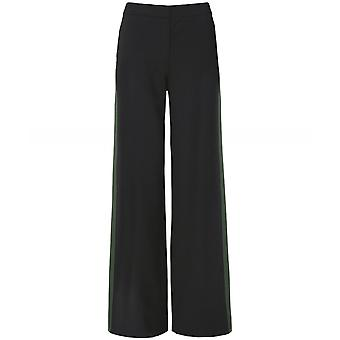 Chinti and Parker Colour Block Wool Blend Trousers