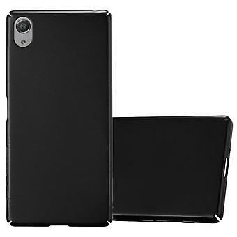 Cadorabo Case for Sony Xperia X Case Cover - Hardcase Plastic Phone Case Against Scratches and Bumps - Protective Case Bumper Ultra Slim Back Case Hard Cover