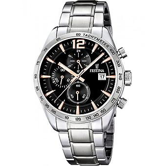 Festina Men's Watch F16759/6 Chronographs
