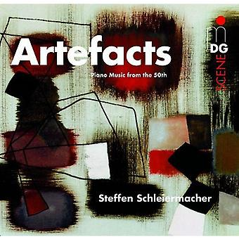 Steffen Schleiermacher (Piano) - Artefacts: Piano Music From the 50th [CD] USA import