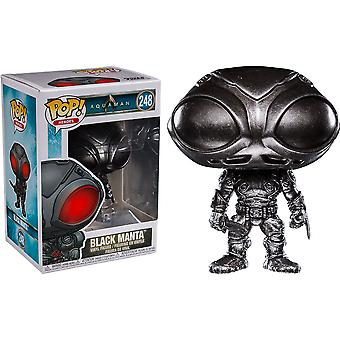 Aquaman Black Manta Brushed Steel US Exclusive Pop! Vinyl