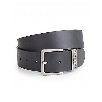 Armani Exchange Leather Logo Belt