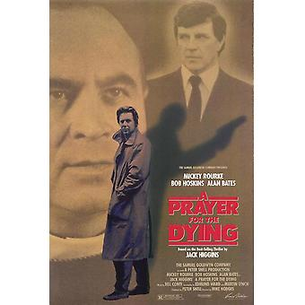 A Prayer For The Dying (Single Sided) Original Cinema Poster (A Prayer For The Dying) Original Cinema Poster (Single Sided) Original Cinema Poster