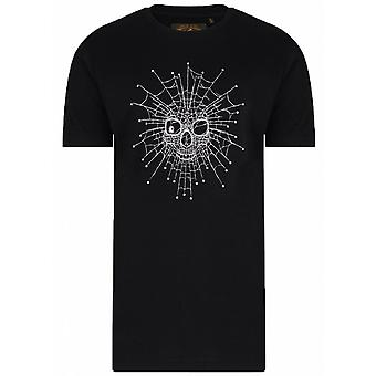 KAM Kam Skeleton Web Tee Shirt