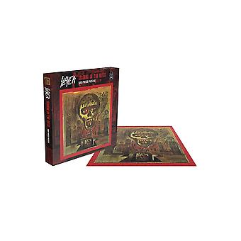 Slayer Jigsaw Puzzle Seasons In The Abyss Album new Official 500 Piece