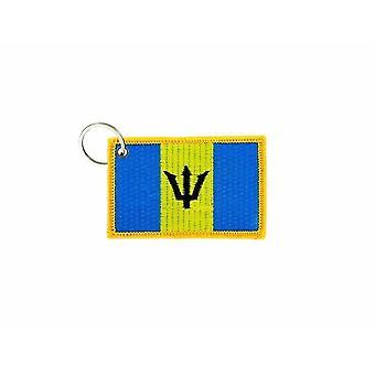 Cle Cles Schlüssel Brode Patch Ecusson Abzeichen Flagge Barbados