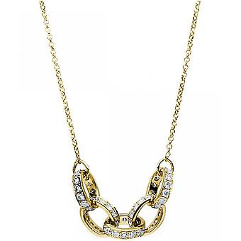 Diamond Collier Collier - 18K 750 Yellow Gold - 0.85 ct.