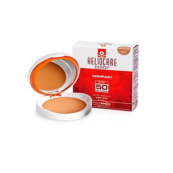 Heliocare Compact Color Spf50+ Light 10 Grams Normal To Dry Skins