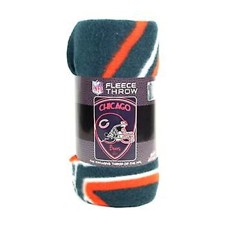 Chicago Bears NFL Northwest Shield Fleece Throw