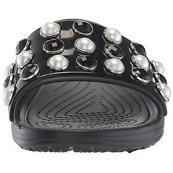 Crocs Women's Sloane Timeless Pearl Slide Sandal