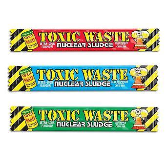 3 barres de déchets toxiques mâche la framboise aux cerises aux pommes