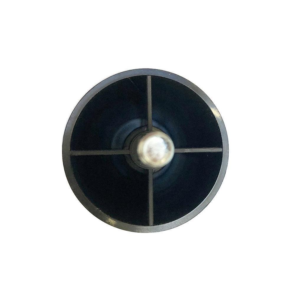Jambe de meubles noirs ronds 12 cm (M8)