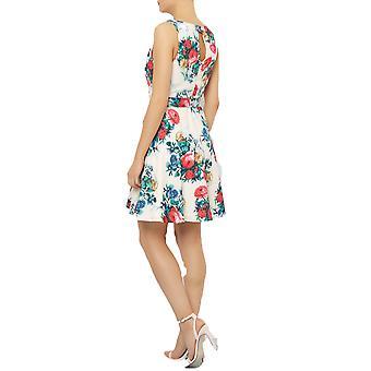 Darling vrouwen ' s uitlopende Floral Gabrielle jurk