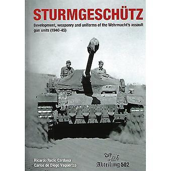 كتاب -- الطائرات والنماذج Sturmgeschutz : Wehrmacht & أبوس ؛ وحدات بندقية الاعتداء 1940-45 كتاب