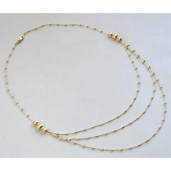 14 carat Christian yellow gold necklace