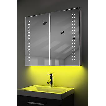 Demist kabinet met LED onder verlichting, Sensor & interne scheerapparaat k364w